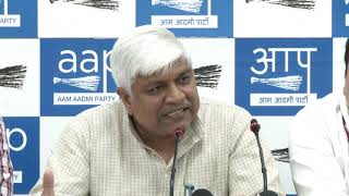 AAP Leaders Brief Media on Sant Ravidas Temple Issue
