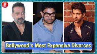 Sanjay Dutt, Hrithik Roshan, Aamir Khan - Bollywood Celebs' Most Expensive Divorces