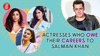 Jacqueline Fernandez, Katrina Kaif, Daisy Shah - Actresses Who Owe Their Careers To Salman Khan