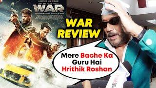 WAR Movie Reaction By Tiger Shroff's Father Jackie Shroff | Hrithik Roshan