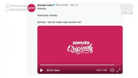 Zomato ने लॉंच किया Zomato Originals, खाने के साथ-साथ खाने के बारे में भी जानिये