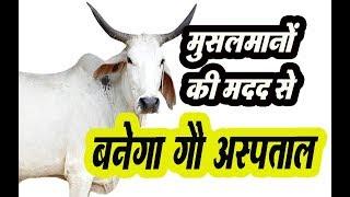 हिन्दू-मुस्लिम मिलकर बना रहे , एमपी का पहला गौ हॉस्पिटल | खंडवा में गायों के लिए बनेगा अस्पताल