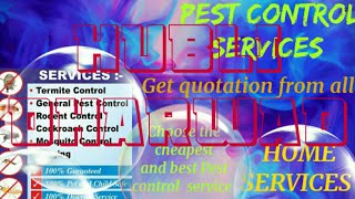 HUBLI DHARWAD     Pest Control Services ~ Technician ~Service at your home ~ Bed Bugs ~ near me 1280