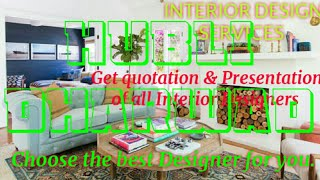 HUBLI DHARWAD      INTERIOR DESIGN SERVICES ~ QUOTATION AND PRESENTATION~ Ideas ~ Living Room ~ Tips