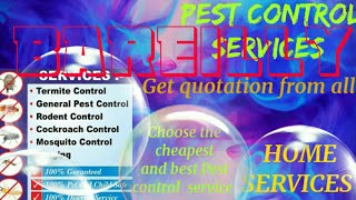 BAREILLY   Pest Control Services ~ Technician ~Service at your home ~ Bed Bugs ~ near me 1280x720 3