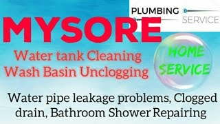 MYSORE    Plumbing Services ~Plumber at your home~   Bathroom Shower Repairing ~near me ~in Building