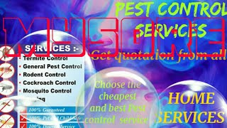 MYSORE    Pest Control Services ~ Technician ~Service at your home ~ Bed Bugs ~ near me 1280x720 3 7