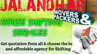 JALANDHAR     Packers & Movers ~House Shifting Services ~ Safe and Secure Service  ~near me 1280x720