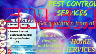SALEM    Pest Control Services ~ Technician ~Service at your home ~ Bed Bugs ~ near me 1280x720 3 78