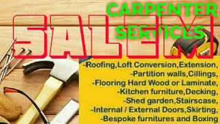 SALEM    Carpenter Services ~ Carpenter at your home ~ Furniture Work ~near me ~work ~Carpentery 1