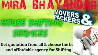 MIRA BHAYANDAR    Packers & Movers ~House Shifting Services ~ Safe and Secure Service  ~near me 1280