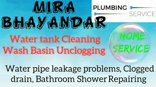 MIRA BHAYANDAR     Plumbing Services ~Plumber at your home~ Bathroom Shower Repairing ~near me ~in