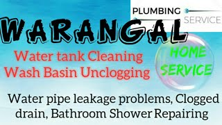 WARANGAL     Plumbing Services ~Plumber at your home~   Bathroom Shower Repairing ~near me ~in Build