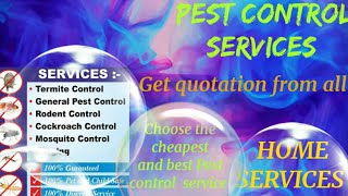 TIRUCHIRAPPALLI     Pest Control Services ~ Technician ~Service at your home ~ Bed Bugs ~ near me 12