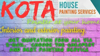 KOTA   HOUSE PAINTING SERVICES ~ Painter at your home ~near me ~ Tips ~INTERIOR & EXTERIOR 1280x720