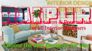 RAIPUR     INTERIOR DESIGN SERVICES ~ QUOTATION AND PRESENTATION~ Ideas ~ Living Room ~ Tips ~Bedroo