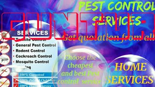 GUNTUR      Pest Control Services ~ Technician ~Service at your home ~ Bed Bugs ~ near me 1280x720 3