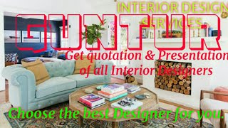 GUNTUR   INTERIOR DESIGN SERVICES ~ QUOTATION AND PRESENTATION~ Ideas ~ Living Room ~ Tips ~Bedroom