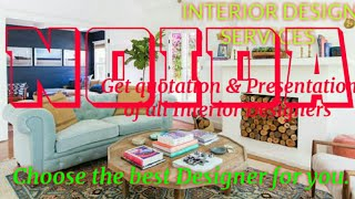 NOIDA     INTERIOR DESIGN SERVICES ~ QUOTATION AND PRESENTATION~ Ideas ~ Living Room ~ Tips ~Bedroom
