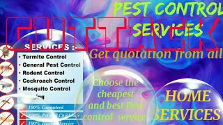 CUTTACK    Pest Control Services ~ Technician ~Service at your home ~ Bed Bugs ~ near me 1280x720 3