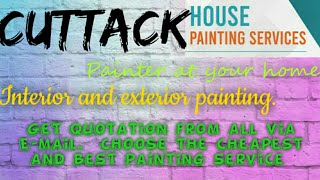 CUTTACK    HOUSE PAINTING SERVICES ~ Painter at your home ~near me ~ Tips ~INTERIOR & EXTERIOR 1280x