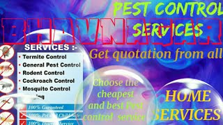 BHAVNAGAR     Pest Control Services ~ Technician ~Service at your home ~ Bed Bugs ~ near me 1280x720