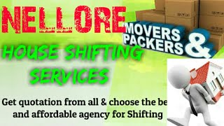 NELLORE      Packers & Movers ~House Shifting Services ~ Safe and Secure Service ~near me 1280x720