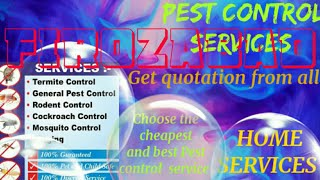 FIROZABAD   Pest Control Services ~ Technician ~Service at your home ~ Bed Bugs ~ near me 1280x720 3