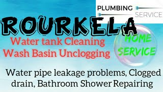 ROURKELA    Plumbing Services ~Plumber at your home~ Bathroom Shower Repairing ~near me ~in Buildi