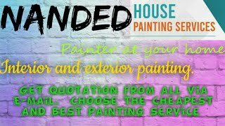 NANDED     HOUSE PAINTING SERVICES ~ Painter at your home ~near me ~ Tips ~INTERIOR & EXTERIOR 1280x