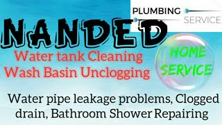 NANDED     Plumbing Services ~Plumber at your home~ Bathroom Shower Repairing ~near me ~in Buildin
