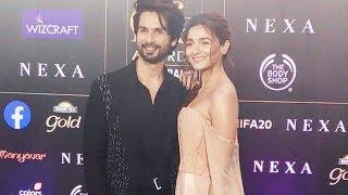 Shahid Kapoor And Alia Bhatt At IIFA AWARDS 2019 | IIFA ROCKS