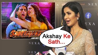 Katrina Kaif Reaction On Working With Akshay In Sooryavanshi | IIFA Awards 2019