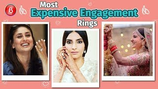 Sonam Kapoor, Kareena Kapoor, Anushka Sharma - Most Expensive Engagement Rings Of Bollywood Divas