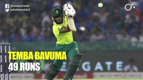 2nd T20I - भारत ने दक्षिण अफ्रीका को 7 विकेट से हराया