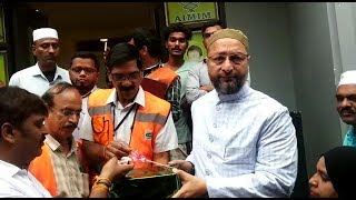 Asaduddin Owaisi Inaugurates Free Mega Health Camp At Owaisi Health Centre