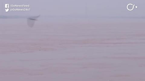 पूर्वी यूपी में गंगा-यमुना नदियां उफान पर, इलाहाबाद शहर में पानी घुसा