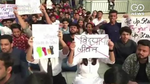 हिमाचल प्रदेश नेशनल लॉ यूनिवर्सिटी में छात्रा का धरना, फीस कम करने और हॉस्टल में बुनियादी सुविधाओं की मांगो को लेकर कर रहे है विरोध प्रर्दशन