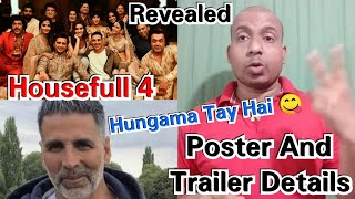 Housefull 4 Poster And Trailer Details Revealed!