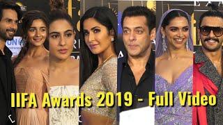 UNCUT: 20th IIFA Awards 2019 - Salman Khan, Deepika Padukone Sara Ali Khan,Alia Bhatt & Katrina Kaif