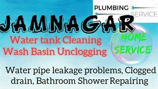 JAMNAGAR    Plumbing Services ~Plumber at your home~ Bathroom Shower Repairing ~near me ~in Buildi