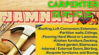 JAMNAGAR     Carpenter Services ~ Carpenter at your home ~ Furniture Work ~near me ~work ~Carpente