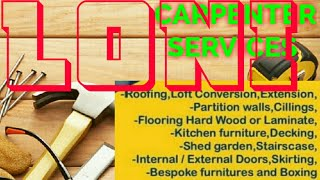 LONI   Carpenter Services  ~ Carpenter at your home ~ Furniture Work  ~near me ~work ~Carpentery 128
