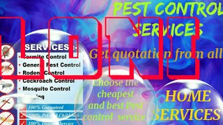 LONI    Pest Control Services ~ Technician ~Service at your home ~ Bed Bugs ~ near me 1280x720 3 78M