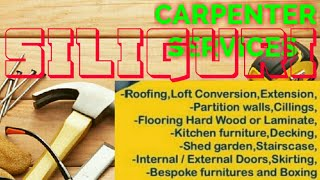 SILIGURI    Carpenter Services  ~ Carpenter at your home ~ Furniture Work  ~near me ~work ~Carpenter