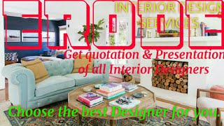 ERODE     INTERIOR DESIGN SERVICES ~ QUOTATION AND PRESENTATION~ Ideas ~ Living Room ~ Tips ~Bedroom