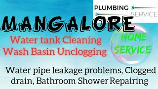 MANGALORE    Plumbing Services ~Plumber at your home~ Bathroom Shower Repairing ~near me ~in Build