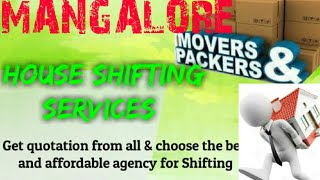 MANGALORE    Packers & Movers ~House Shifting Services ~ Safe and Secure Service  ~near me 1280x720