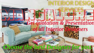 MANGALORE   INTERIOR DESIGN SERVICES ~ QUOTATION AND PRESENTATION~ Ideas ~ Living Room ~ Tips ~Bedro