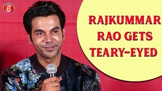 Rajkummar Rao Gets Emotional Talking About His Late Father